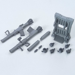 Builders Parts System Weapon 009 C1 and D1 Bazooka