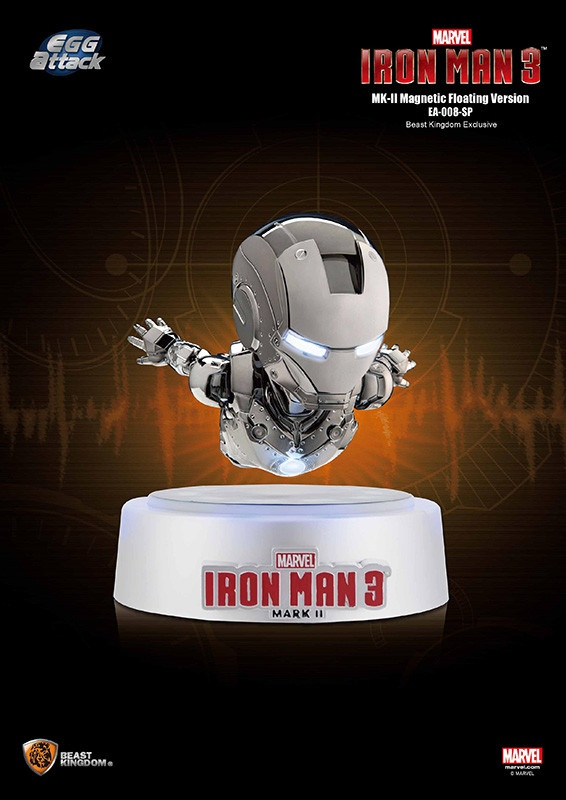 Egg Attack Iron Man 3:MKII Special Floating Edition Beast Kingdom Exclusive