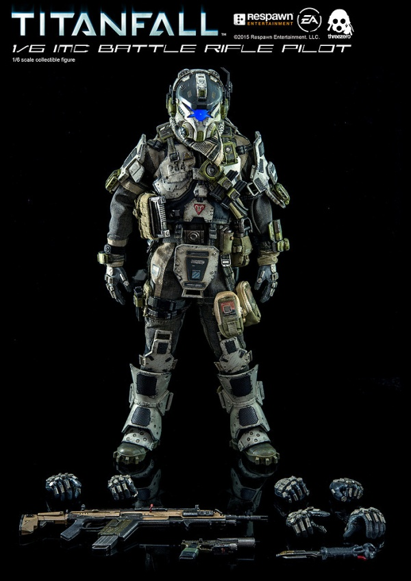 TITANFALL 1/6 IMC Battle Rifle Pilot