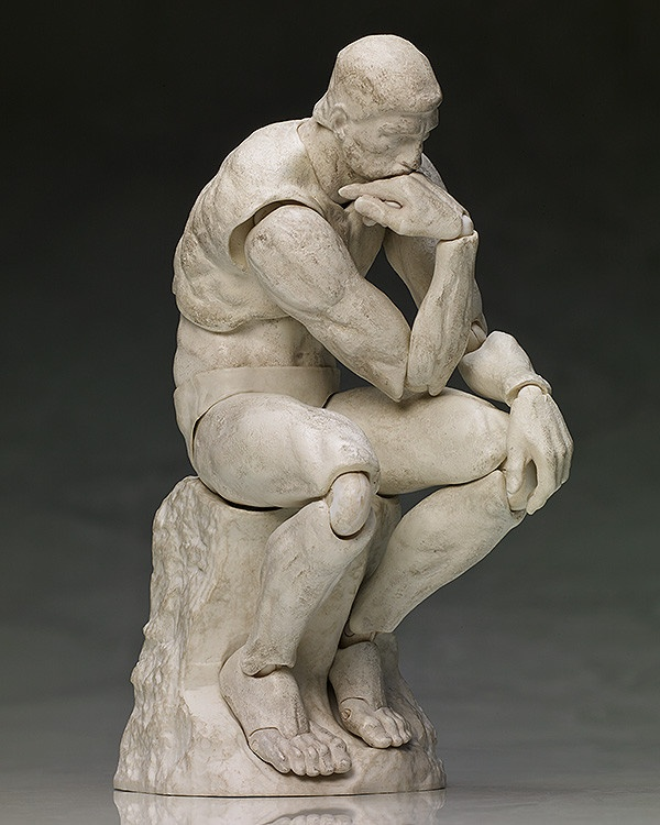 figma The Thinker: Plaster ver.