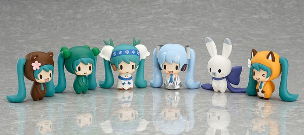 Nendoroid Plus: Capsule Factory~Snow Miku and Friends from the North~ SEASON 1