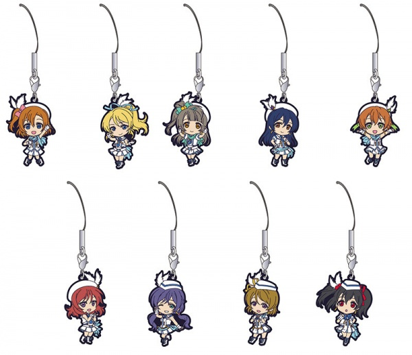 Love Live!Rubber Strap Collection / Rubber Magnet Collection / Metal Charm Collection