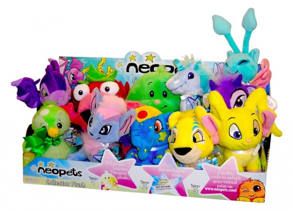 Neopets Plush Set 3