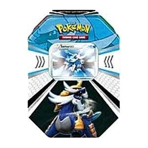 Pokemon Black White Card Game Fall 2011 Evolved Battle Action Tin Samurott