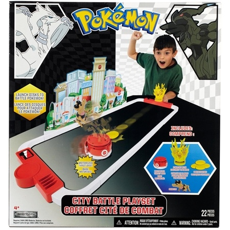 Pokemon City Battle Play Set - Black and White Series