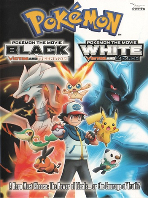 Pokemon Movie on DVD: Black Victini & Reshiram / White Victini & Zekrom
