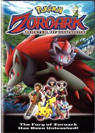 Pokemon Movie on DVD - Zoroark: Master of Illusions
