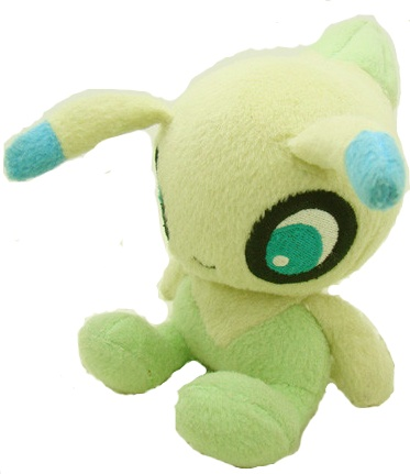 Celebi Pokemon Mini Plush Toy