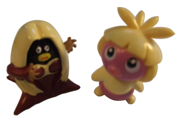 Pokemon Action Figures - Smoochum & Jynx