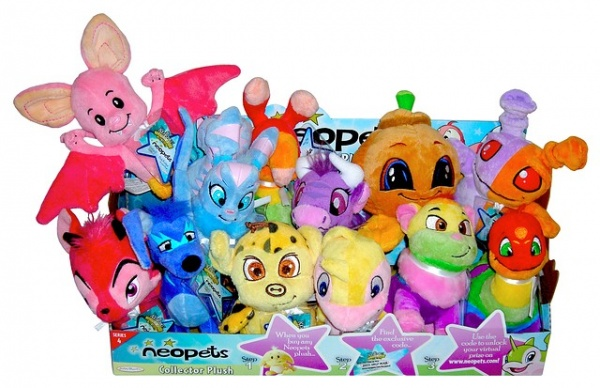 Neopets Plush Set 4