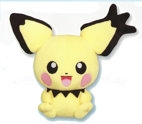 Pichu Pokemon Mini Plush Toy