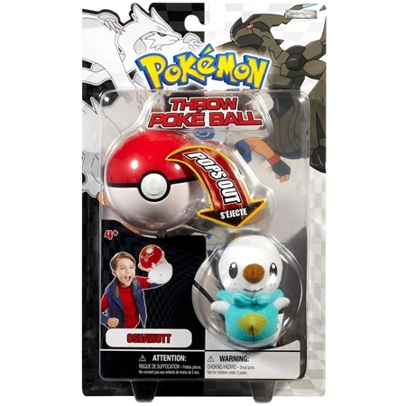 Oshawott - Pokemon Throw Poke Ball Black and White Series #1