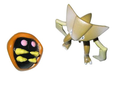 Pokemon Action Figures - Kabuto & Kabutops