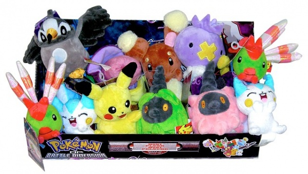 Pokemon Plush Set 6