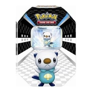 Black & White Sneak Peek Oshawott Tin Box (Promo, Figure & Packs)