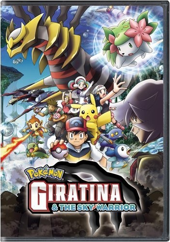 Pokemon Movie on DVD: Giratina & The Sky Warrior