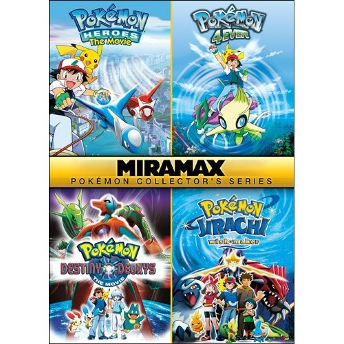Pokemon Movies on DVD - Pokemon Collectors Series