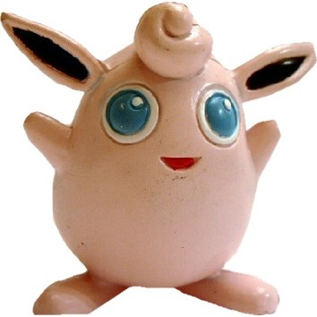 Pokemon Action Figure - Wigglytuff