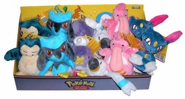 Pokemon Plush Set 7
