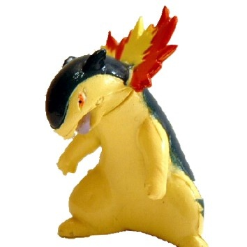 Pokemon Action Figure - Typhlosion