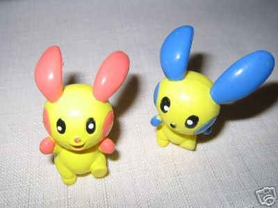 Pokemon Action Figures - Plusle & Minun