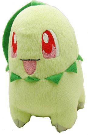 Chikorita Pokemon Plush Toy