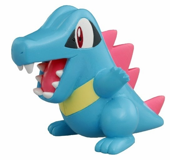 Totodile Pokemon Action Figure -3 Inch