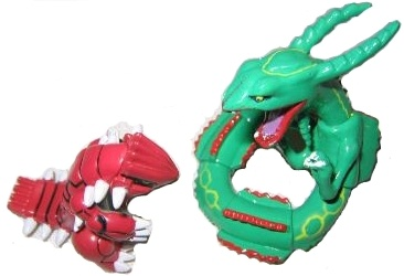 Pokemon Action Figures - Groudon & Rayquaza