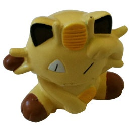 "Red Blue Yellow Pokemon - Meowth 3"" Figurine"