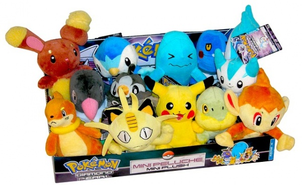 Pokemon Plush Set 4