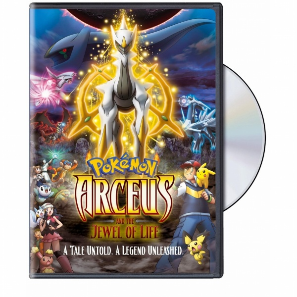Pokemon Movie on DVD: Arceus & The Jewel of Life