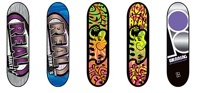 Lot of 5 Tech Deck Fingerboard Skateboards