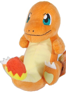 Charmander Pokemon Plush Toy - Large
