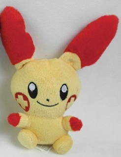 Plusle Pokemon Plush Stuffed Toy