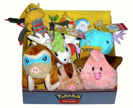 Pokemon Plush Set 9