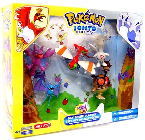 Pokemon Exclusive Johto Edition Playset Sky Scene