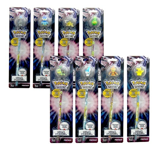 Pokemon Pencil Toppers 8 PC
