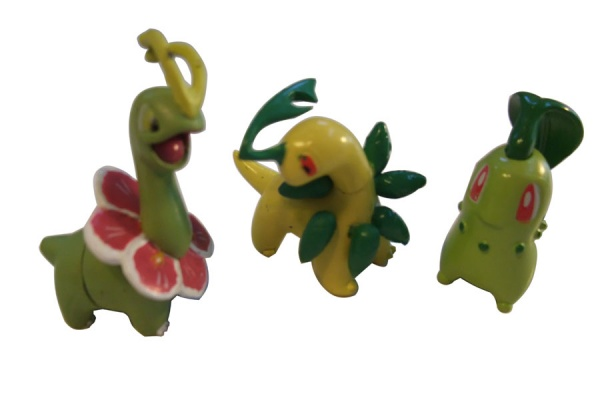 Pokemon Action Figures - Chikorita Bayleef Meganium