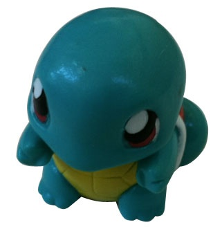 """Red & Blue Pokemon -  Squirtle 3"""" Figurine"""