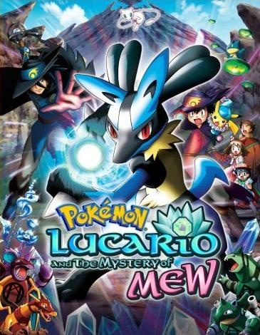 Pokemon Movie on DVD: Lucario and the Mystery of Mew