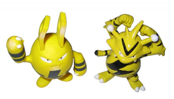 Pokemon Action Figures - Elekid & Electabuzz