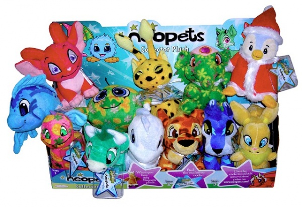 Neopet Plush Set 5