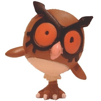 Pokemon Action Figure - Hoothoot