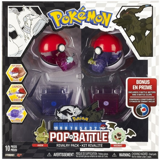 Pop and Battle Rivalry Pack 1 - Axew vs Woobat